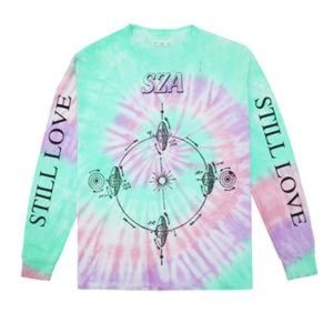 Other - SZA Tour Merch Tie Dye Long Sleeve T-Shirt (L)